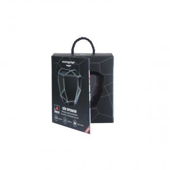 Акустика Xoopar - Geo Speaker (Чорна З Білим Led-Підсвічуванням, Bluetooth,Моно)