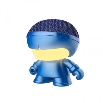 Акустика Xoopar - Mini Xboy (7,5 Cm, Синій Металік, Bluetooth)