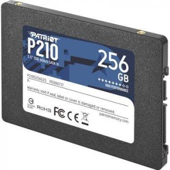 "SSD-накопичувач Patriot P210 2.5"" SATAIII TLC (P210S256G25) (P210S256G25)"