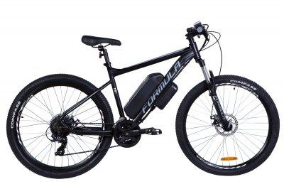 """Электровелосипед 27.5"""" F-1 500Вт 36В, 10.4Ач, макс.пробег 40км, 45 км/ч (черно-белый (м))"""