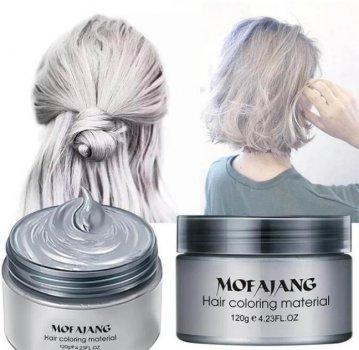 Забарвлює віск для волосся Mofajang Сріблястий (A1030)