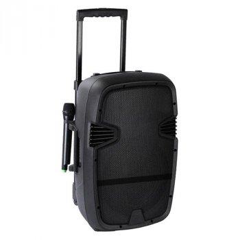 Портативна бездротова акустична система AILIANG LIGE 120A Bluetooth колонка валізу з мікрофоном Black (LIGE-120A)