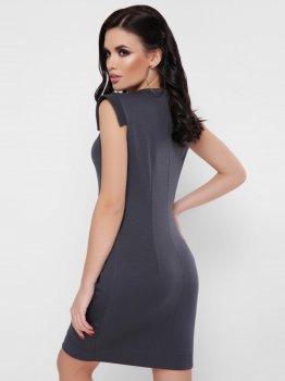 Плаття Fashion Up Susanna PL-1669B Графітове