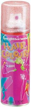 Краска-Спрей Sibel Fluo Glitter Hair Color для волос флуоресцентный с блестками 125 мл