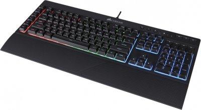 Клавіатура дротова Corsair K55 RGB USB (CH-9206015-RU)