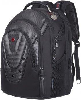 """Рюкзак для ноутбука Wenger Ibex 17"""" Black Carbon (605498)"""