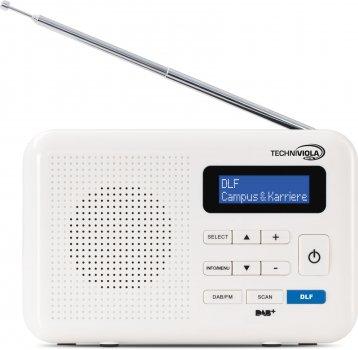 Цифровий радіоприймач TechniSat TECHNIVIOLA DIRA DAB+ білий (0001/4964)