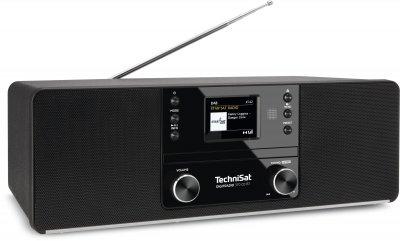 Цифровий стаціонарний радіоприймач TechniSat DIGITRADIO 370 CD BT з CD-плеєром чорний (0000/3948)