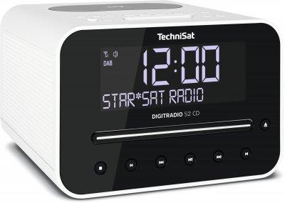 Радіогодинник TechniSat DIGITRADIO 52 CD білі (0001/3939)
