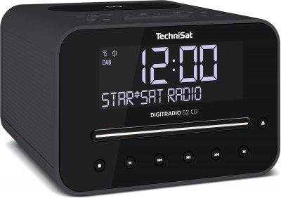 Радіогодинник TechniSat DIGITRADIO 52 CD антрацит (0000/3939)
