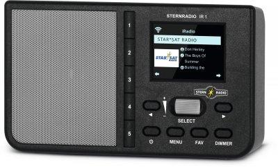 Цифровий радіоприймач TechniSat STERNRADIO IR 1 чорний (0000/3960)