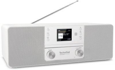 Цифровий стаціонарний радіоприймач TechniSat DIGITRADIO 370 CD BT з CD-плеєром білий (0001/3948)