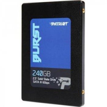 Накопичувач SSD 240GB 2.5 Patriot (PBU240GS25SSDR)