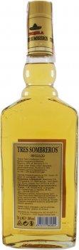 Текила Tres Sombreros Gold 38% 0.7 л (8414771860824)