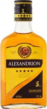 Крепкий алкогольный напиток Alexandrion 5* 0.2 л 37.5% (5942122000252)