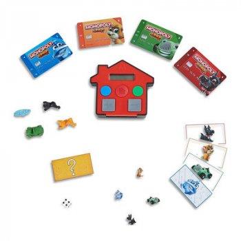 Игра настольная Games Монополия Юниор с банковскими карточками (E1842) (10-537025)