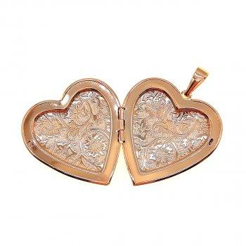 Медальйон Xuping из медицинского золота, позолота 18K, 42426