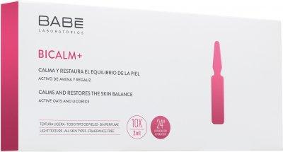 Ампулы-концентрат Babe Laboratorios BICALM+ с антикуперозным действием и для снятия раздражения на коже 10 x 2 мл (8436571630377)