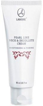 Крем для шиї та декольте Lambre Pearl Line 80 мл (3760183768162)