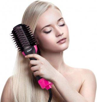 Фен расческа щетка для укладки волос Стайлер 3в1 One Step с ионизацией Hair Dryer and Styler (L0850-0850)
