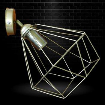 """Світильник настінний Electropark, спот поворотний, стельова лампа, на одну лампу, золотистий колір """"CLASSIC/LS-G"""" (LS-000089)"""