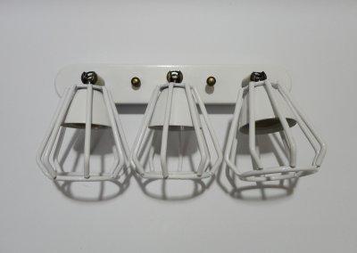 """Світильник настінний Electropark, спот поворотний, стельова лампа, на три лампи, білий колір """"CUP-3S"""" (LS-00012229)"""