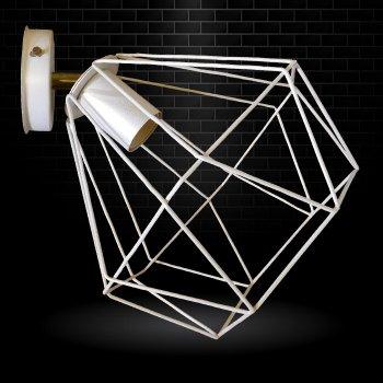 """Світильник настінний Electropark, спот поворотний, стельова лампа, на одну лампу, білий колір """"CLASSIC/LS-WP"""" (LS-000090)"""