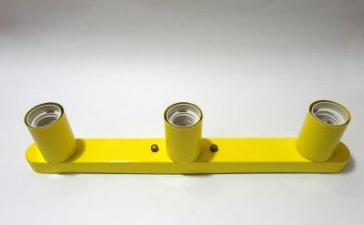 Світильник настінний Electropark, стельова лампа, мінімалізм, стандартний цоколь, жовтий колір (LS-0001222)