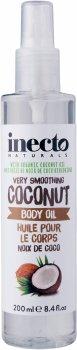 Разглаживающее масло для тела Inecto Naturals Coconut Body Oil 200 мл (5012008591102)