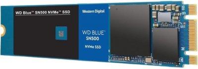 Твердотільний накопичувач SSD M. 2 WD Blue SN500 500GB NVMe PCIe 3.0 4x 2280 TLC