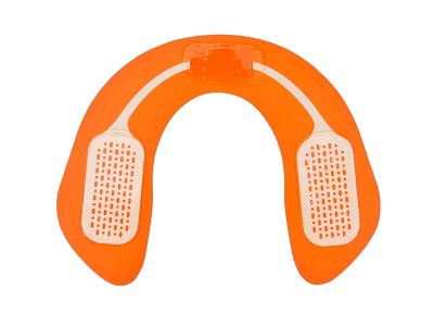 Массажер миостимулятор EMS Hip Trainer для ягодиц Черный с оранжевым