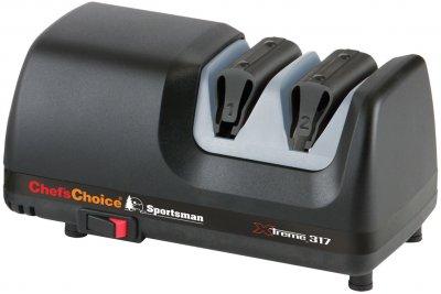 Точилка для ножей Chef's Choice электрическая двухуровневая Черная (CH/317)