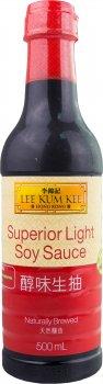 Соус соевый Lee Kum Kee Superior Light 500 мл (078895151589)