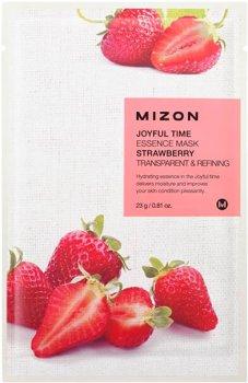 Маска для лица Mizon Joyful Time Essence с экстрактом клубники 23 г (8809479166451)