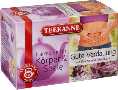 Чай травяной пакетированный Teekanne Гармония Легкое пищеварение 20 пакетиков (4009300012580)
