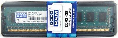 Оперативна пам'ять GoodRam DDR3 4GB 1333MHz (GR1333D364L9S/4G) (6124947)