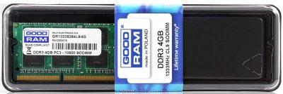 Оперативна пам'ять sodimm GoodRam DDR3 4GB 1333MHz (GR1333S364L9S/4G) (6159409)