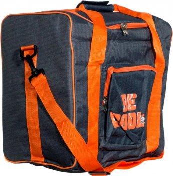 Сумка холодильник BE COOL Orange переносна термосумка для їжі та напоїв з ручками + ремінь через плече (47532 I)