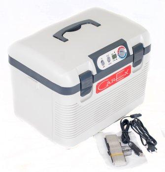 Автохолодильник на два відділення CarEx RI-19-4DA 60W (R104)