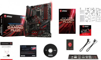 Мат. плата MB MSI MPG Z390 Gaming Plus (iZ390/s1151/4xDDR4 4400(OC)/2xPCIe x16/4xPCIe x1/2x M. 2 port/6xSATA3/Raid 0,1,5,10/Glan/1xUSB3.1 Type-C, 2xUSB3.1/2xUSB2.0/DVI, HDMI/Audio 7.1 ch/ATX)