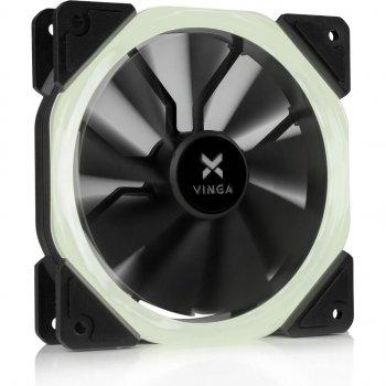 Кулер Vinga LED fan-01 white