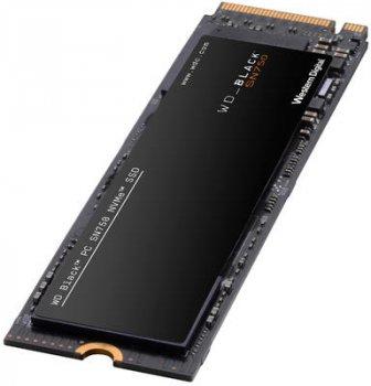 Western Digital Black SN750 NVMe SSD 500GB M.2 2280 PCIe 3.0 x4 3D NAND (TLC) (WDS500G3X0C)