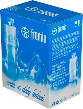 Упаковка воды ледникового периода питьевой негазированной Fromin Ledovka Water 1.5 л х 6 бутылок (8594161670339)