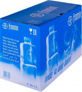 Упаковка воды ледникового периода питьевой негазированной Fromin Ledovka Water 1 л х 8 бутылок (8594161670346)