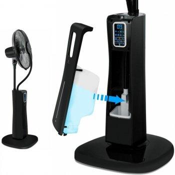 Напольный вентилятор с ультразвуковым водным распылителем Kesser KE-15406 Черный