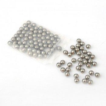 Металеві кульки для рогатки DEXT 8 мм сталь 6 упаковок (OK2215728914)
