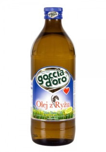 Рисовое масло Goccia D'oro 1 л