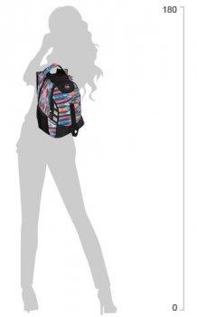 """Рюкзак молодіжний Cool For School 17"""" Чорний з рожевим (CF85851)"""