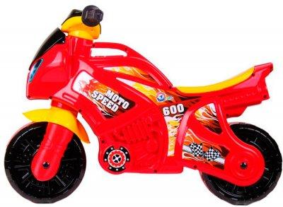 Беговел ТехноК Мотоцикл Красно-желтый (5118) (4823037605118)