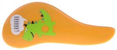 Расчёска Sibel D-Meli-Melo mini Dino для пушистых длинных детских волос Желтая (5412058201455_yellow)